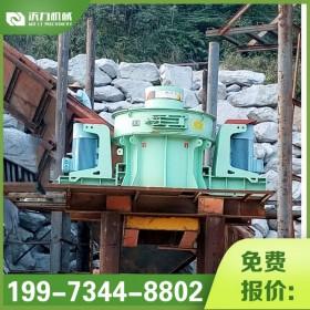 沃力直供对辊制砂机  河卵石制砂机设备  岩石制砂机