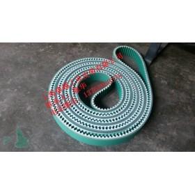 光伏行业输送带焊接电池板生产线用同步带T10双面绿布加PU