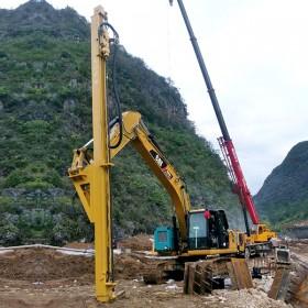 矿山打爆破孔 挖改液压凿岩机 挖改钻机 成本低效率高