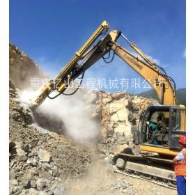 挖掘机改装液压凿岩钻机 不去小臂 不改油路