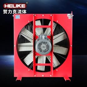 贺力克工程机械矿山机械润滑油冷却器液压油风冷式散热器