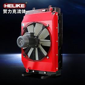 贺力克稀油站冷却器液压油润滑油风冷式散热器
