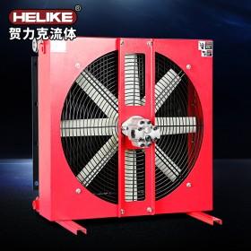 贺力克矿山机械润滑系统液压系统动力站冷却器风冷式散热器