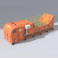 HPY-XRT-1400预选抛废智能选矿机好朋友科技荣誉出品