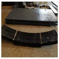 复合板耐磨板 碳化铬双金属耐磨板12+12mm 4+4