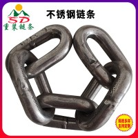 矿用圆环链条定制 刮板机输送链条厂家 不锈钢圆环链条