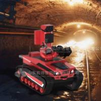 矿山井下消防灭火机器人