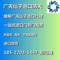 广天仙子清关公司