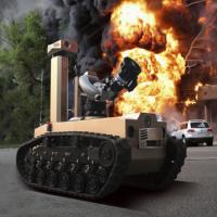 防爆型消防灭火侦查机器人