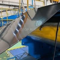 半硫化CN层耐磨橡胶板