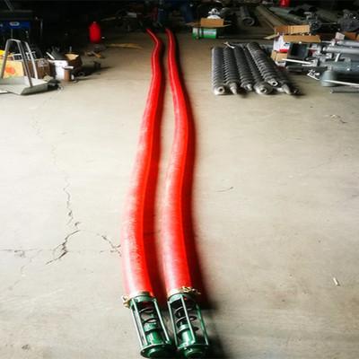 移动式双头螺旋轴远距离抽粮机 木屑铁粉大管径吸粮机 真空输送机