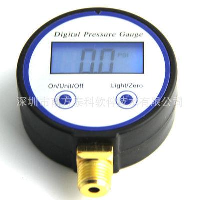 热销供应 轮胎充气泵数字压力表 精密数字压力表 负压数字压力表