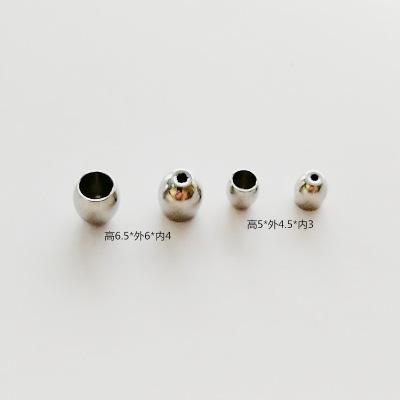 现货不锈钢弧度吊桶 小孔桶 绳扣 扣子 DIY饰品配件