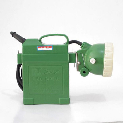 波来特矿灯 高功率防爆灯 手提电瓶 4V 8A 3W工作灯探照灯 强光