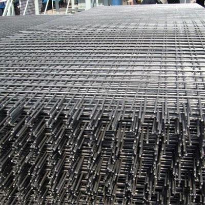 河北三银建筑钢筋网片 煤矿支护钢筋网片 地基防裂钢筋网片厂商