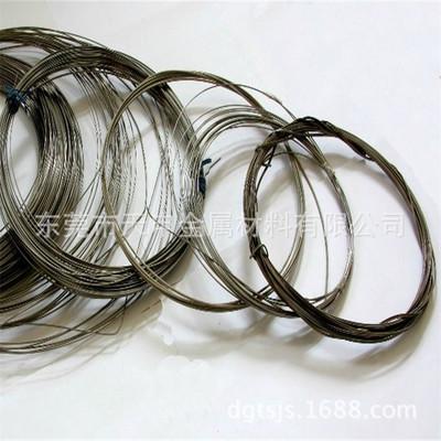 深圳钛合金厂家直销TA1 TA2 TC4钛线 钛合金线 钛方线 价格优惠