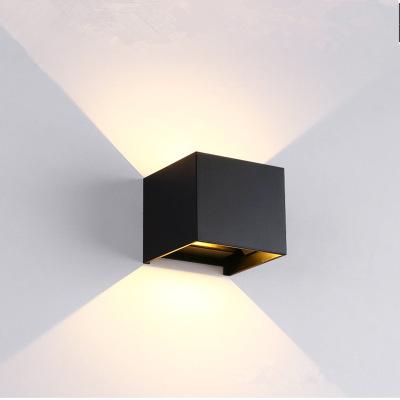 户外壁灯 铝材防水壁灯 过道灯创意壁灯 卧室客厅北欧简约壁灯