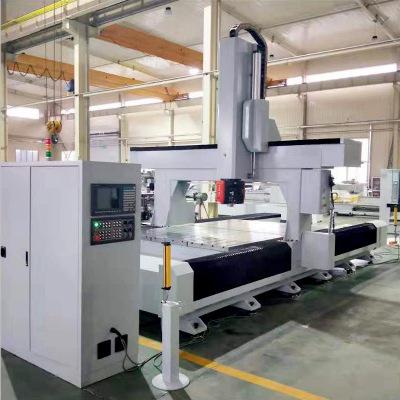 山东 厂家供应 铝型材数控加工中心 五轴加工中心 质保一年
