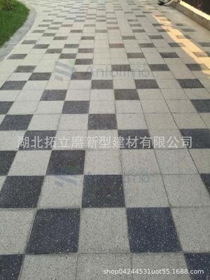 庭瑞新汉口实拍摄PC砖三代耐磨抗压抗污染抗折可直接走车厂家直销
