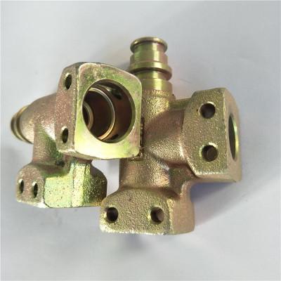 厂家热销直角接头 扣压接头 三通接头F型法兰 扣压式胶管接头