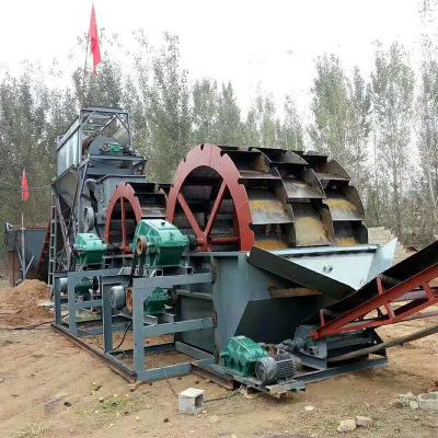 广东大型筛沙机洗石粉移动矿用螺旋分级机螺旋筛沙机螺旋输送机