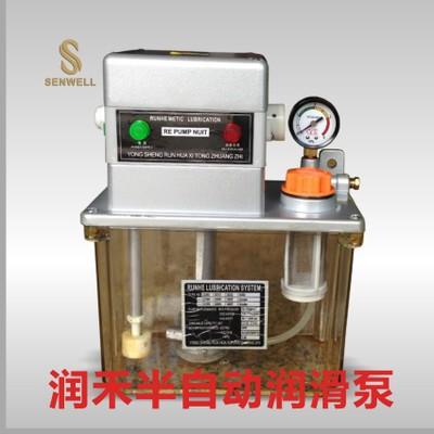 东莞产地货源润禾集中润滑系统 半全自动润滑油泵RE2202注油器