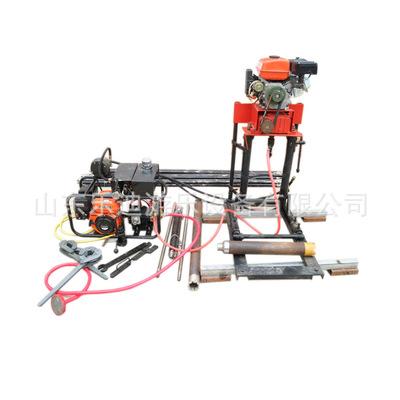 50型轻便液压钻机取样钻机 农用打井机 自动伸缩式钻机