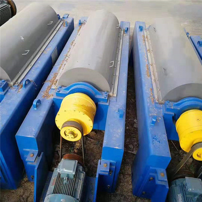 450卧螺离心污泥脱水机 工业离心脱水机二手卧螺式离心机型号价格