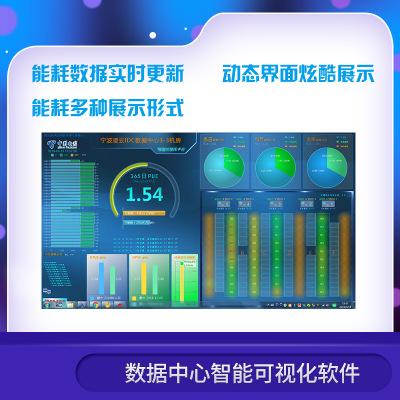 数据中心智能可视化软件 PUE及能耗分布/温度分布/空调运行状态