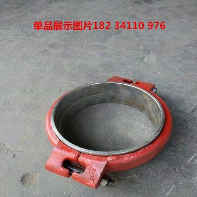 河南三门峡化工厂dn133高压卡箍式管道柔性快速接头密封圈