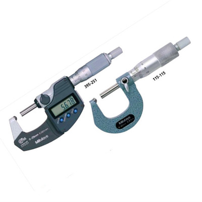 日本三丰Mitutoyo球面对平面测量面管材专用机械千分尺115-116