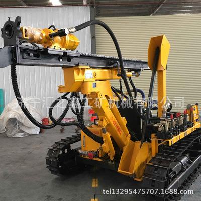 滑移式伸缩潜孔钻机 山地专用滑移潜孔钻机 履带式滑移打桩机