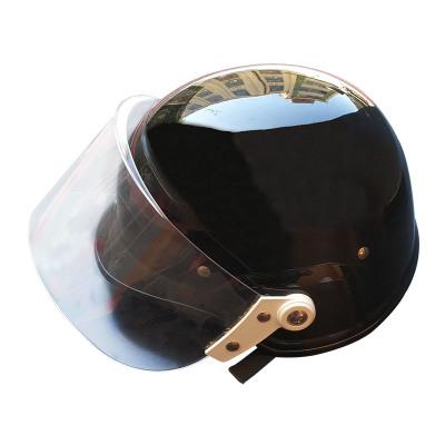 Pc德式防暴头盔带面罩M88防爆防护头盔保安执勤巡逻器材厂家批发