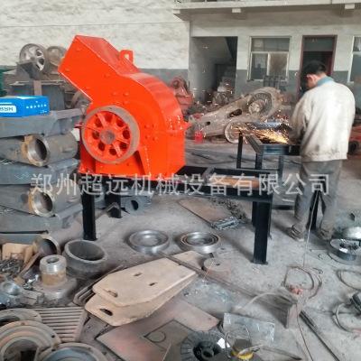 移动式重型锤式破碎机 大型高质量破碎机 锤式破碎机生产设备