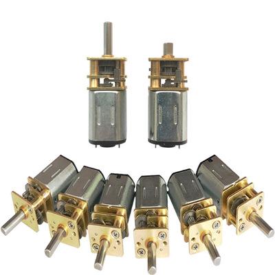 N20微型电动机直流减速微型电机齿轮GM12-N20额定电压3V-12V