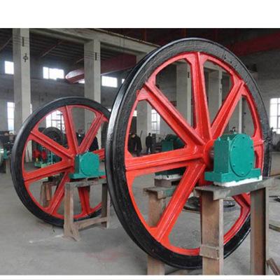 现货TXG-800/16天轮矿用凿井天轮串车游动天轮固定天轮使用说明书