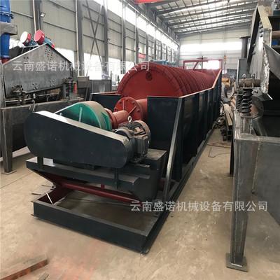 现货供应螺旋洗砂机 螺旋洗沙机生产厂家 大型小型螺旋式洗石机