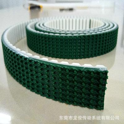 定制PU同步带 草纹聚氨酯钢丝爬坡带 T5 T10高强度传动同步带
