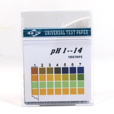 跨境商品外贸出口DF广范酸碱试纸 PH试纸条 测试溶液酸碱性酸碱度
