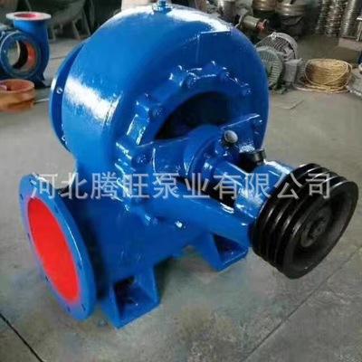 厂家直销 14寸 大口径 350HW-4 洪涝排水泵 大流量混流泵