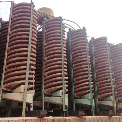 贵州贵阳生产螺旋溜槽 锆英石分选螺旋溜槽 BLL1200螺旋溜槽价格