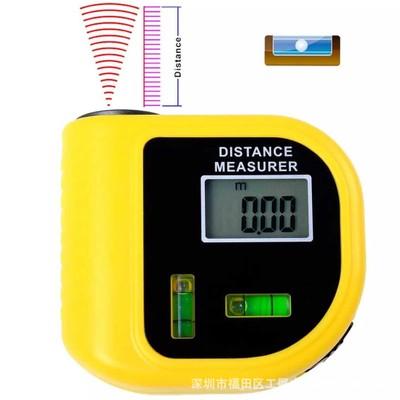 工厂直销 超声波测距仪 带水平尺 红外线激光测距仪cp-3010 18米