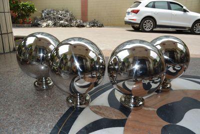不锈钢球带座 加底座空心圆球 专业制作 厂家直销