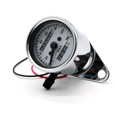 猴子复古改装码表 小仪表里程表 时速表 可清理里程 12V摩托车