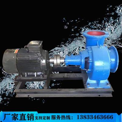厂家直销蜗壳卧式混流泵大流量农用泵河道清淤柴油机抽水排污泵