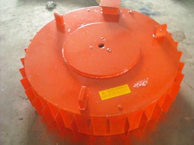 电磁除铁器厂家定制专业生产强磁除铁机  圆盘电磁自卸除铁器
