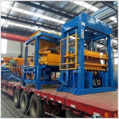 厂家直供建筑废渣制免烧砖机 水泥空心砖机 易操作 石粉砌块砖机