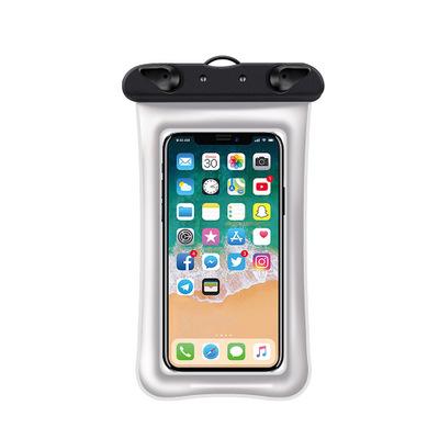游泳用品 新款透明漂浮气囊防水手机袋防水套充气手机防水袋