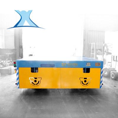厂家定制AGV磁导航转运钢管自动化设备搬运过跨地爬车电动平车