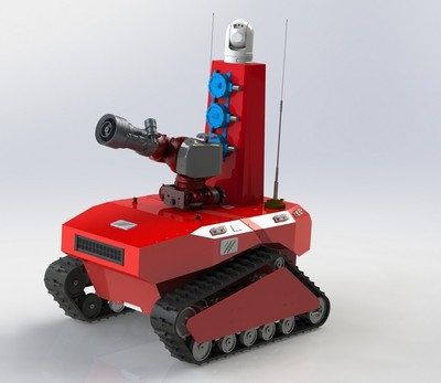 侦检消防机器人
